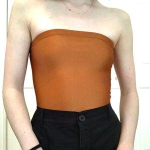 Shimmery Bronze Bodysuit